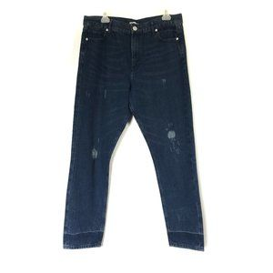 Express Jeans Vintage Skinny High Rise Cot…